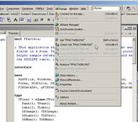 Viewing history file screenshot